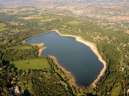 le lac de saint Ferreol